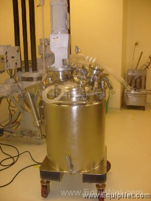 Fontanot 150 Liter Stainless Steel Jacketed Reactor