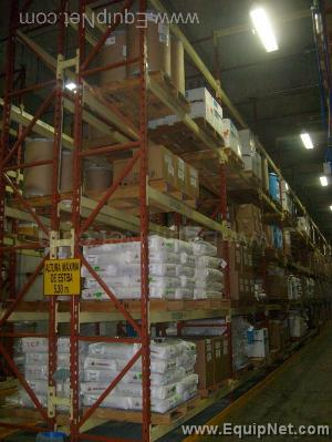 LARGE LOT OF PALLET RACKING