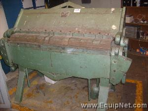 Mexican Made 50 Inch Press Brake Model D4-125-14