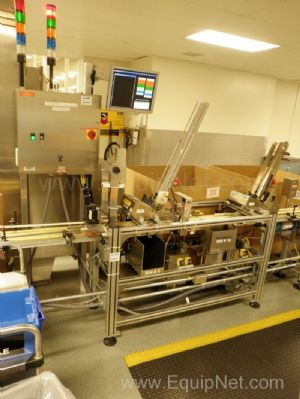 Stream Feeder Dual SO850 Inserters with Custom Vision and Barcode System - Line 15