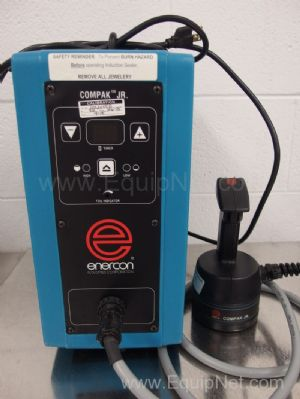 Enercon Compak Jr Induction Cap Sealer With Hand Held Sealing Head