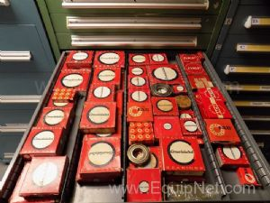 Parts Cabinet with Assorted Sized Ball Bearings