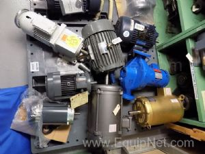 Contents of Pallet of Various Motors