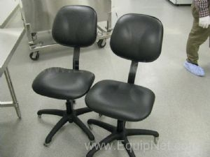 Lot of 2 Laboratory Chairs