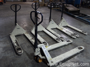 Lot of 5 Crown PTH Pallet Jacks