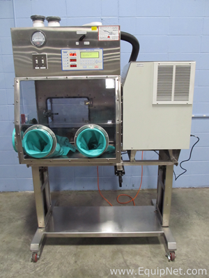 Containment Technologies Group Enguard 4 Glove Port Isolator With Virtis Freeze Dyer And Vacuum Pump