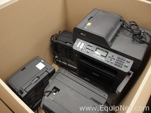 Lot of Approximately 5 Label Printers