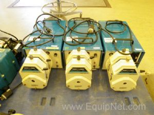 Lot of (3) Cole Parmer Model 7549-32 Masterflex I/P Peristaltic Pumps