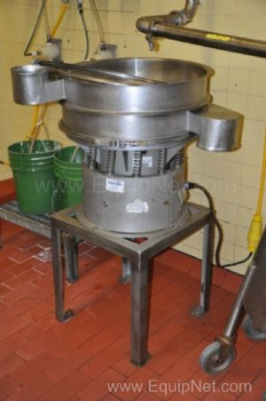 Sweco 24 Inch Stainless Steel Shaker Separator