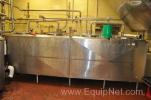 DCI Crepaco 4 Bay Holding Tank 2500 Gallons