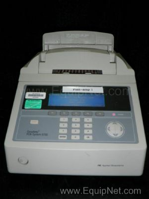 Applied Biosystems GeneAmp 96 Well PCR System 9700 Designed for Nucleic Acids