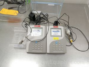 Lot of (2) Beckman Model pHi 360 pH Meters