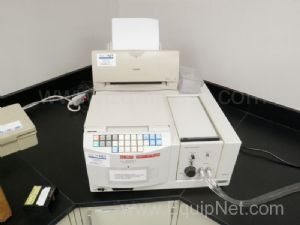 Lot of (2) Hitachi U-2001 Spectrophotometers