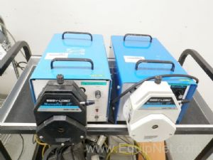 Lot of (2) Cole Parmer Model 7549-32 Masterflex I/P Peristaltic Pumps