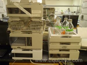 Agilent 1100 HPLC System with DAD Detector