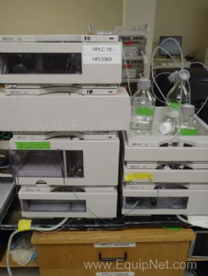 Hewlett Packard 1100 HPLC System with DAD Detector