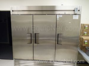 True T72 Triple Door Refrigerator