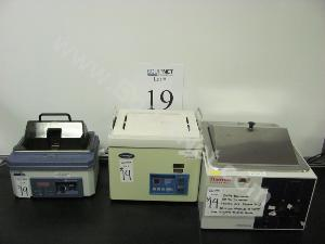 Lot of Water Baths and Ultrasonic Cleaner
