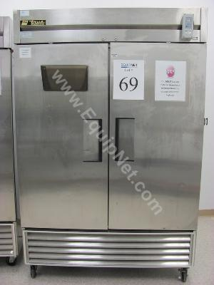 True Stainless Steel Refrigerator