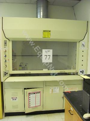 6 Ft. Kewaunee Scientific Corp. Fume Hood