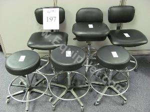 Lot of (6)Lab Chairs