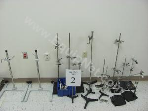 Lot of Assorted Lab Stands