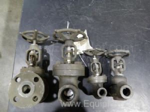 Lot of 4 Assorted Valves