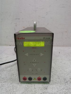 Hoefer Scientific EPS2A200 DC Power Supply