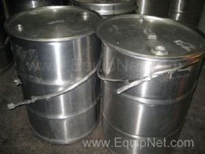 55gal (200L) Stainless Steel Storage Drums Lot of 10
