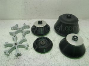 Lot of 6 Assorted Centrifuge Rotors