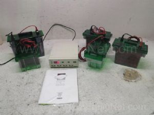Lot of Biorad Electrophoresis Power Pac 200 With Blotters & Cells
