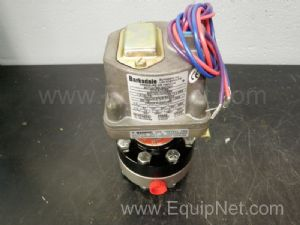 Barksdale Vacuum Actuated Switch