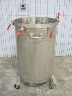 45 Gallon Stainless Steel Single Wall Holding Tank