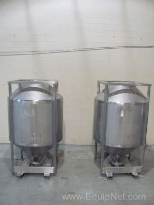 Lot of 2 All-Weld 51 Cubic Foot Totes