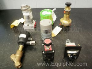 Lot of 8 Assorted Transducers and Regulators