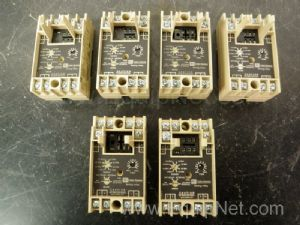 Lot of 9 Assorted Timing Relays
