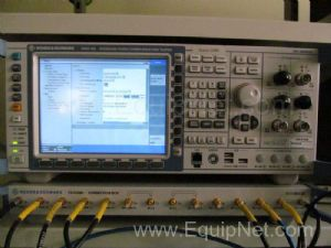Rohde and Schwarz CMW500 Wideband Radio Communication Tester - Dual Front End