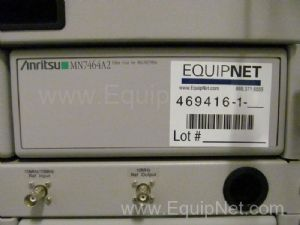 Anritsu MN7464A2 Filter Unit For 822/837 MHz