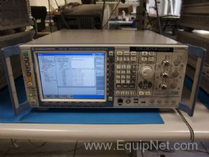 Rohde and Schwarz CMW 500 Wideband Radio Communication Tester - Single Front End