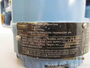 Fisher Rosemount Current to Pressure Transducer