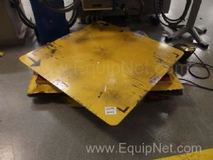 2 Southworth Products Air Operated Lift Tables