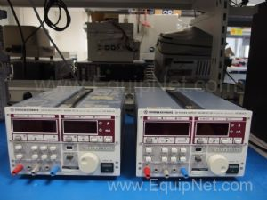 Lot of 2 Rohde and Schwarz NGSM 32 10 DC Power Supplies