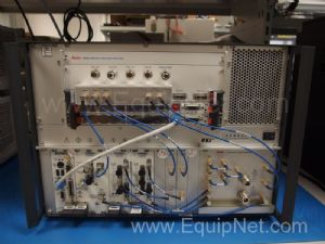 Anite 9000 Mobile Test Accelerator With Combiner Clock Module and NI PXI RF Converters