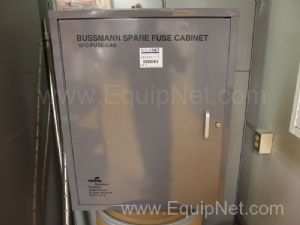 Cabinet with Spare Bussmann Fuses