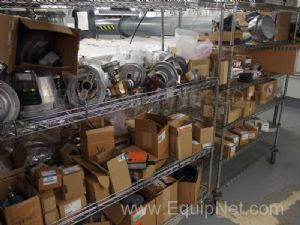 5 Metro Carts With MRO/Repair Parts, Valves and More