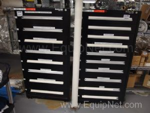 2 Sentry Cabinets With Contents of Switches, Thermostats, Temp Probes and More