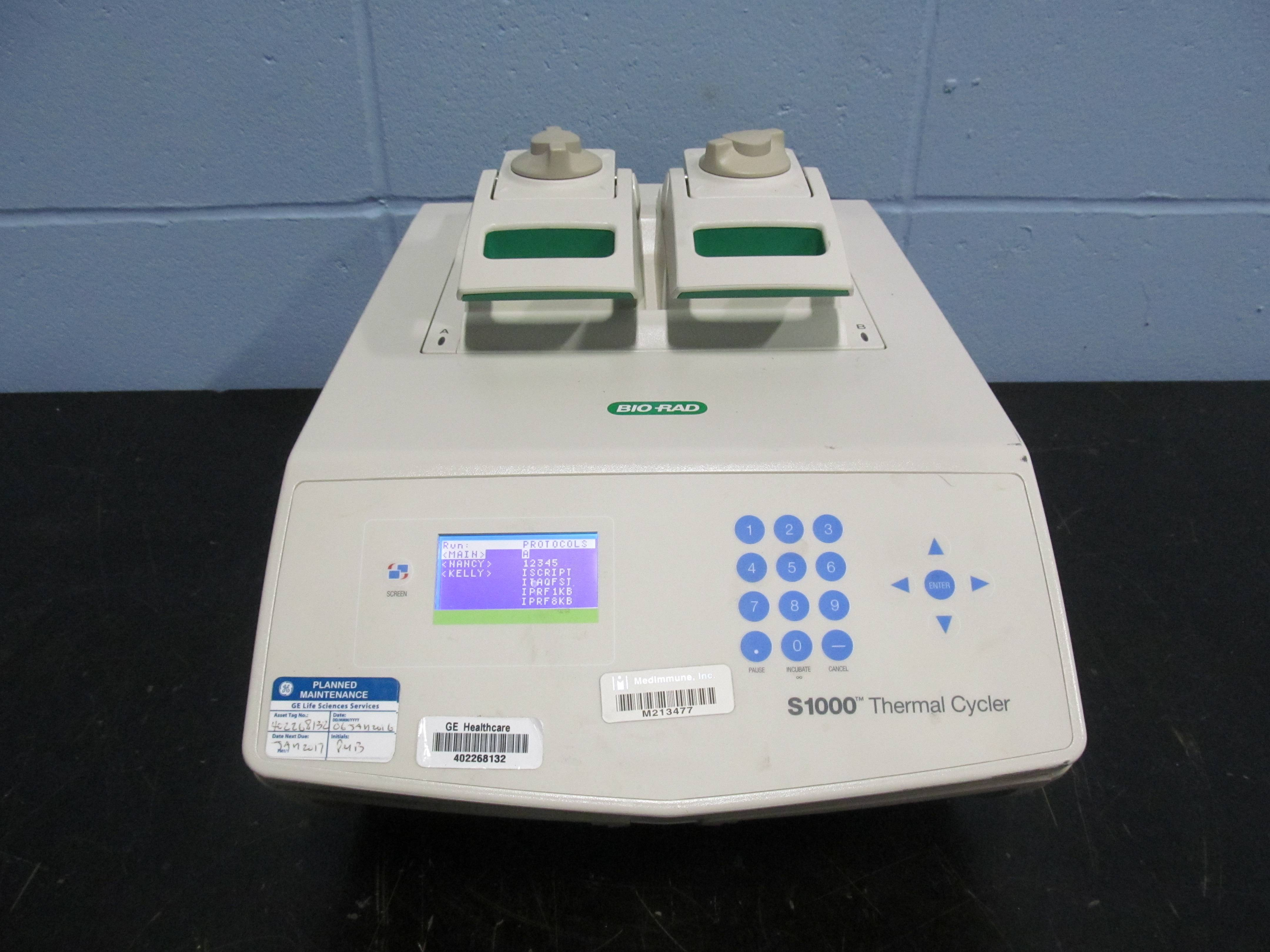 Biorad S1000 Thermal Cycler With 48 48W Fast Reaction Module