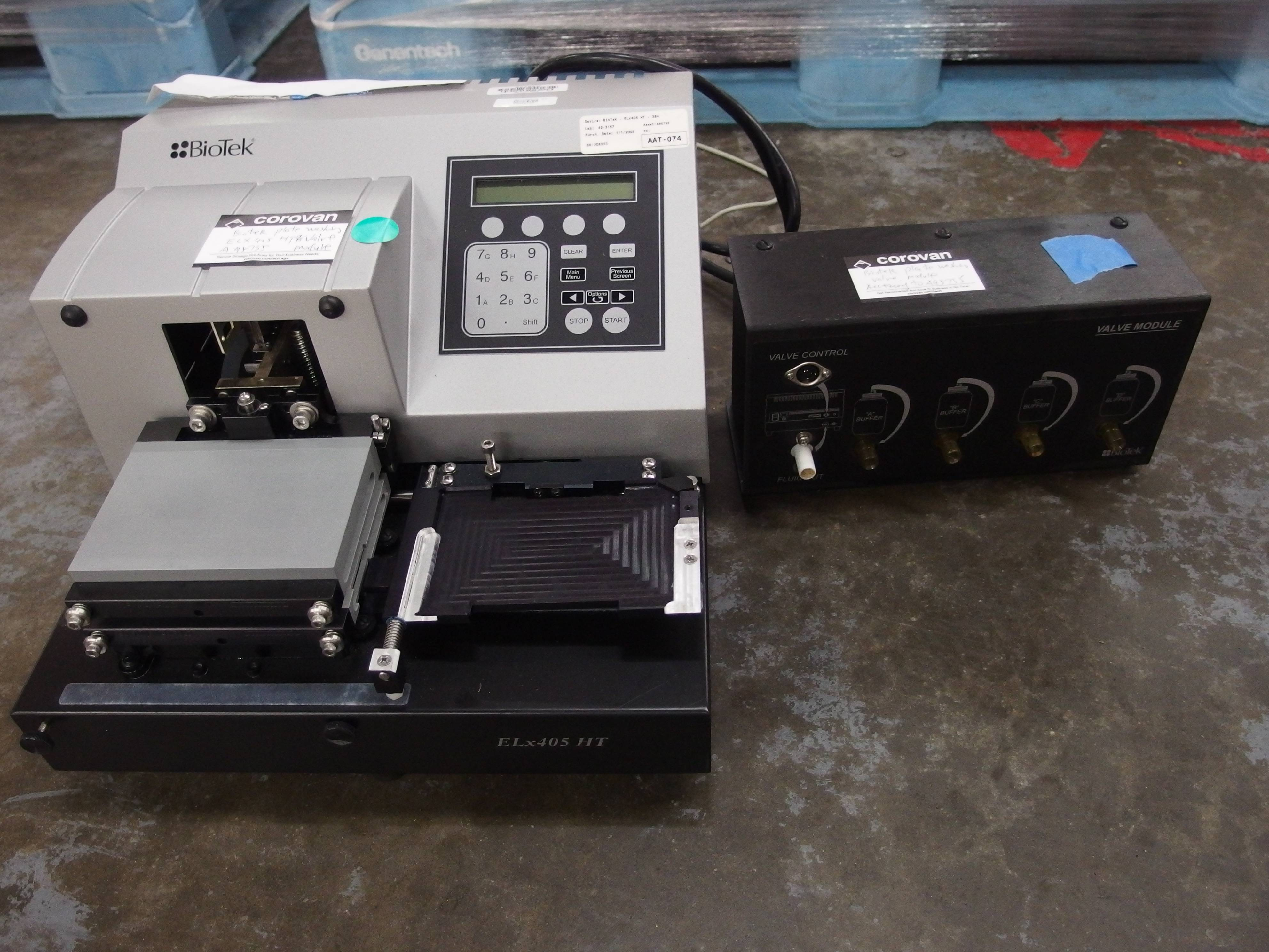 BioTek Instruments ELx405 HT Microplate Washer with Valve Module