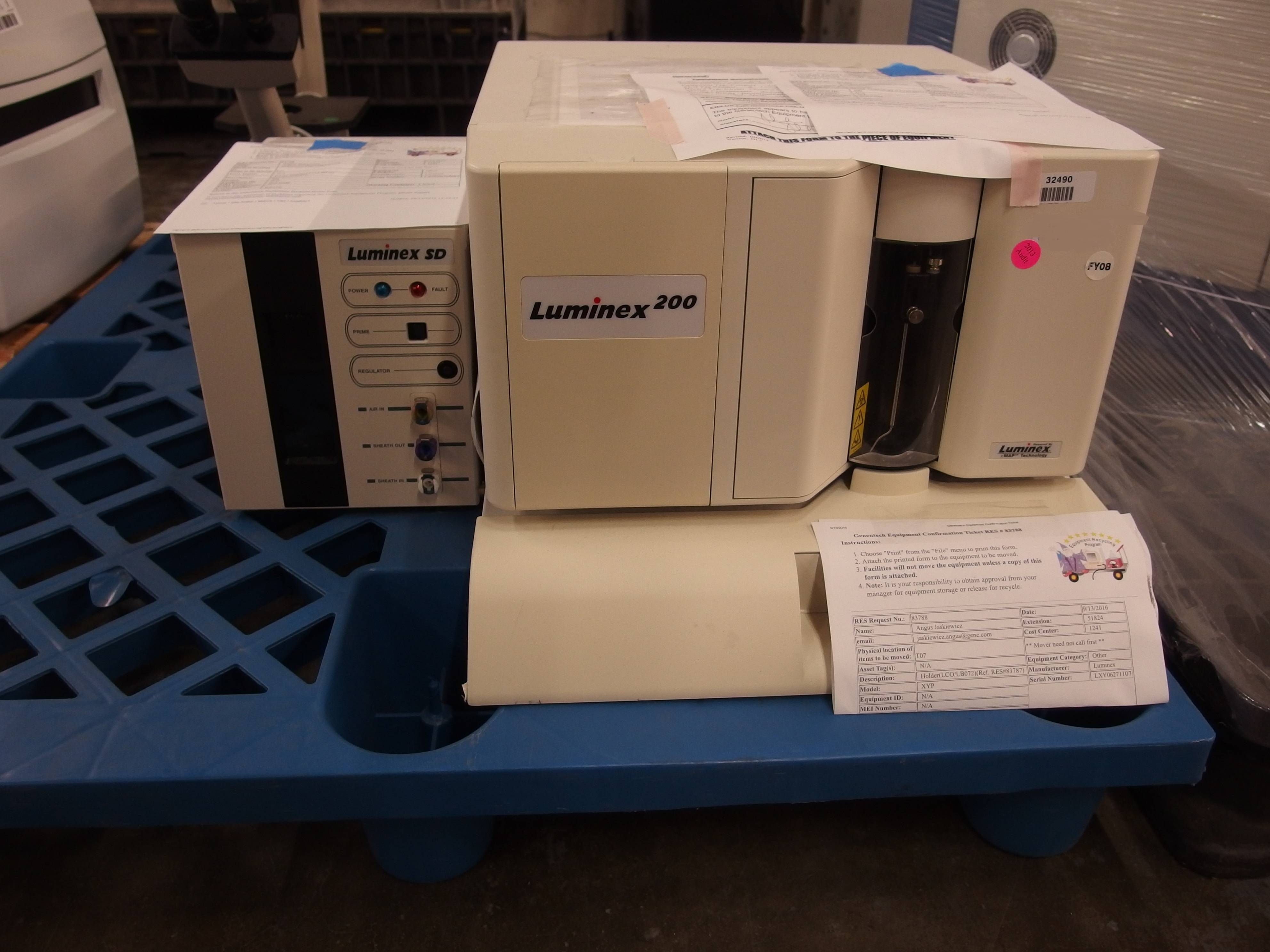 Luminex 200 Flow Cytometer with SD Sheath Delivery System