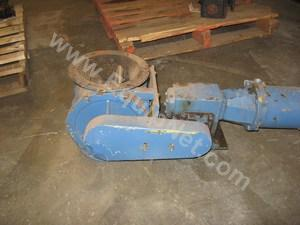 Lot of (1) 10in Rotary Valve
